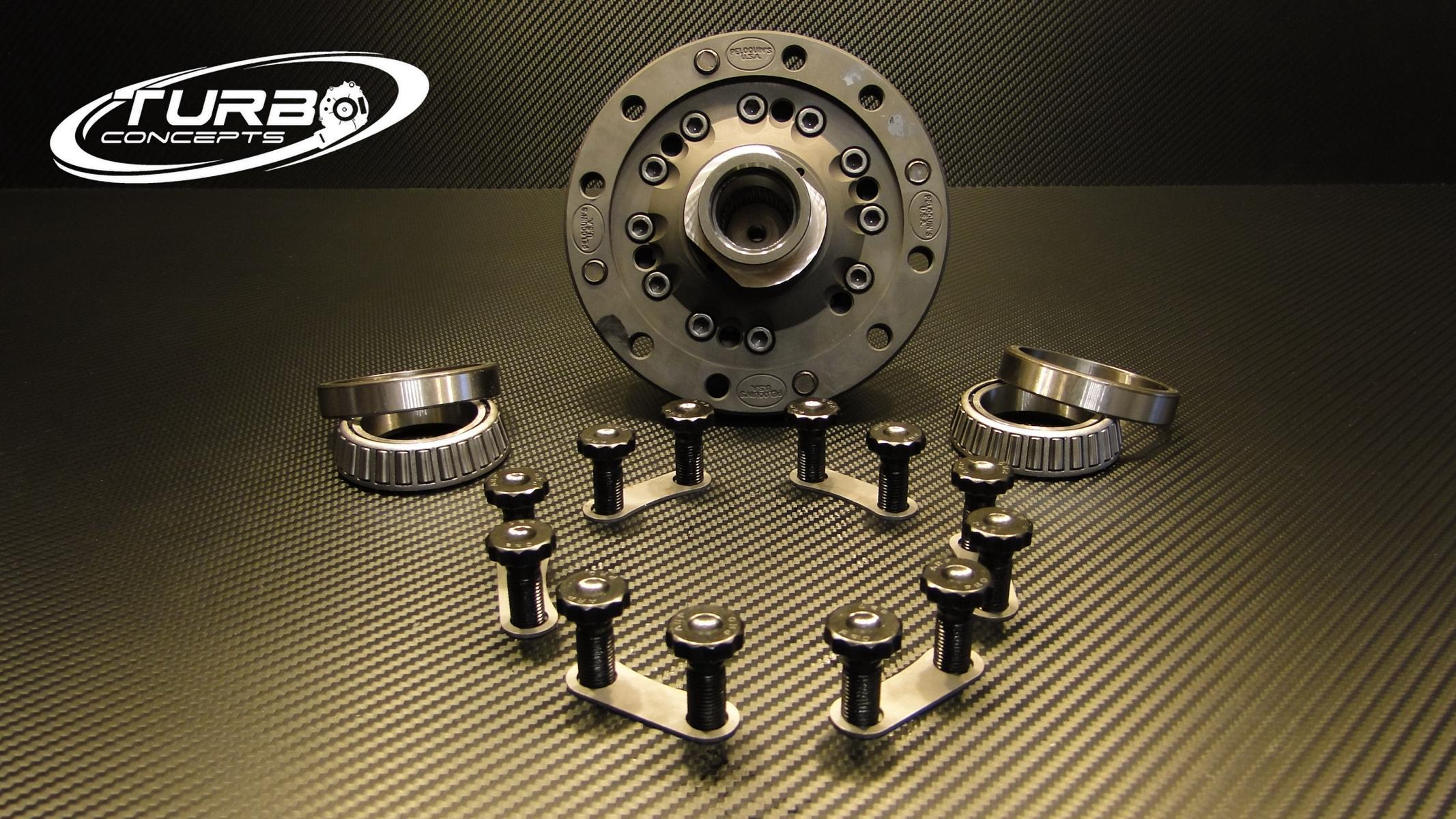 Peloquin Differentialsperre für 02Q 6-Gang Allrad Getriebe 2 0T S3 / TT /  R32 Mk5